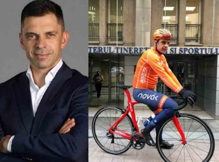 Eduard Novak, ministrul Tineretului şi Sportului, va concura la Jocurile Paralimpice de la Tokyo
